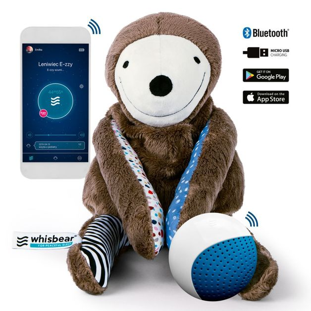 Whisbear: E-zzy The Sloth Sleep Monitor