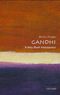 Gandhi: A Very Short Introduction by Bhikhu Parekh image