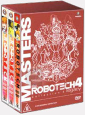 Robotech - Macross Saga: Collection 4 on DVD