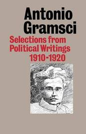 Selections from Political Writings by Antonio Gramsci image