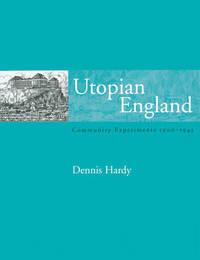 Utopian England by Dennis Hardy image