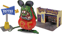 Revell: 1/25 Rat Fink with 1/25 Diorama Plastic Model Kit