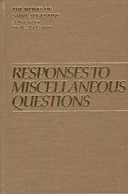Responses to Miscellaneous Questions by Edmund Augustine