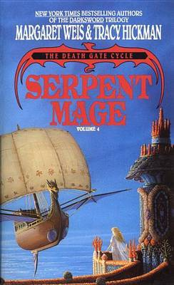 "Serpent Mage: Volume 4 ""Death Cage Cycle"" by Margaret Weis image"