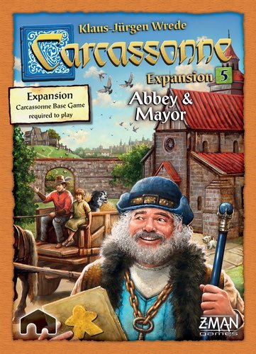 Carcassonne: Abbey & Mayor - Expansion Pack image