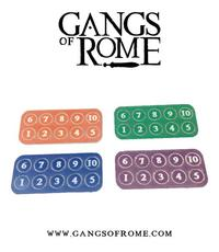 Gangs of Rome: Gang Fighter ID Markers (40)