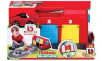 BB Junior: Ferrari Roll Away Raceway - Vehicle Playset