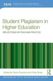Student Plagiarism in Higher Education