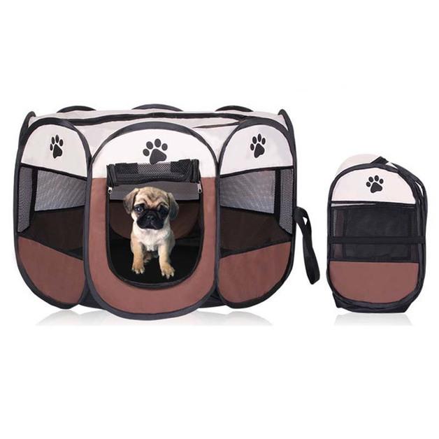 Ape Basics: Portable Playpen Dog House