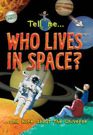 Who Lives in Space? by Clare Oliver image