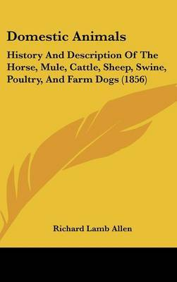 Domestic Animals: History and Description of the Horse, Mule, Cattle, Sheep, Swine, Poultry, and Farm Dogs (1856) by Richard Lamb Allen image