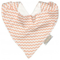 Silly Billyz Jersey Bandana (Peach Chevron)