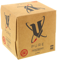 V Pure - 200ml Can (4 pack)