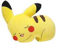 Pokemon: Mochi-Fuwa Cushion (Sleepy Pikachu)