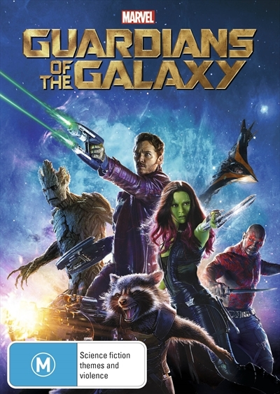 Guardians of the Galaxy on DVD image