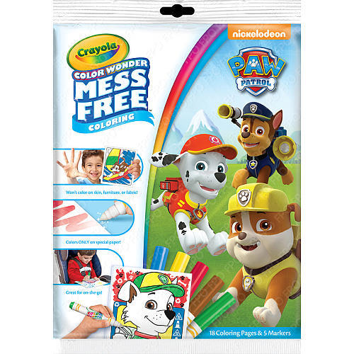 Crayola: Color Wonder Mess Free Activity Pack - Paw Patrol