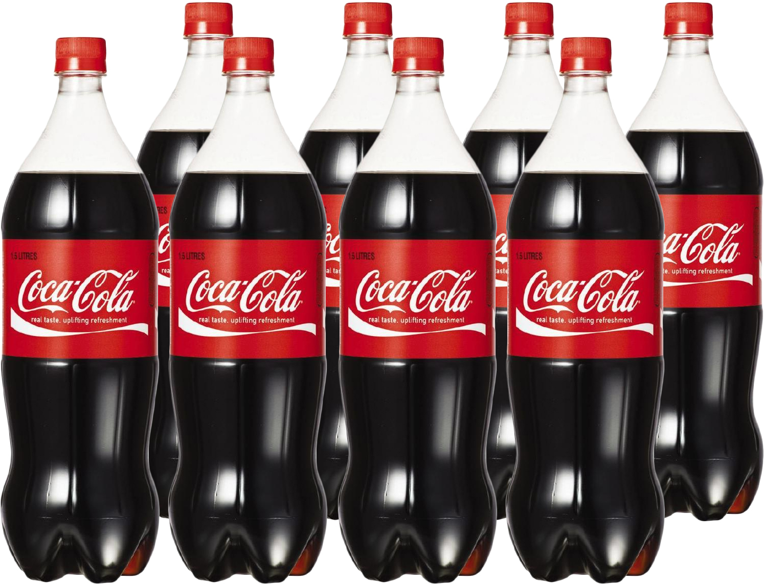 Coca-cola Soft Drink (1.5l X 8) image