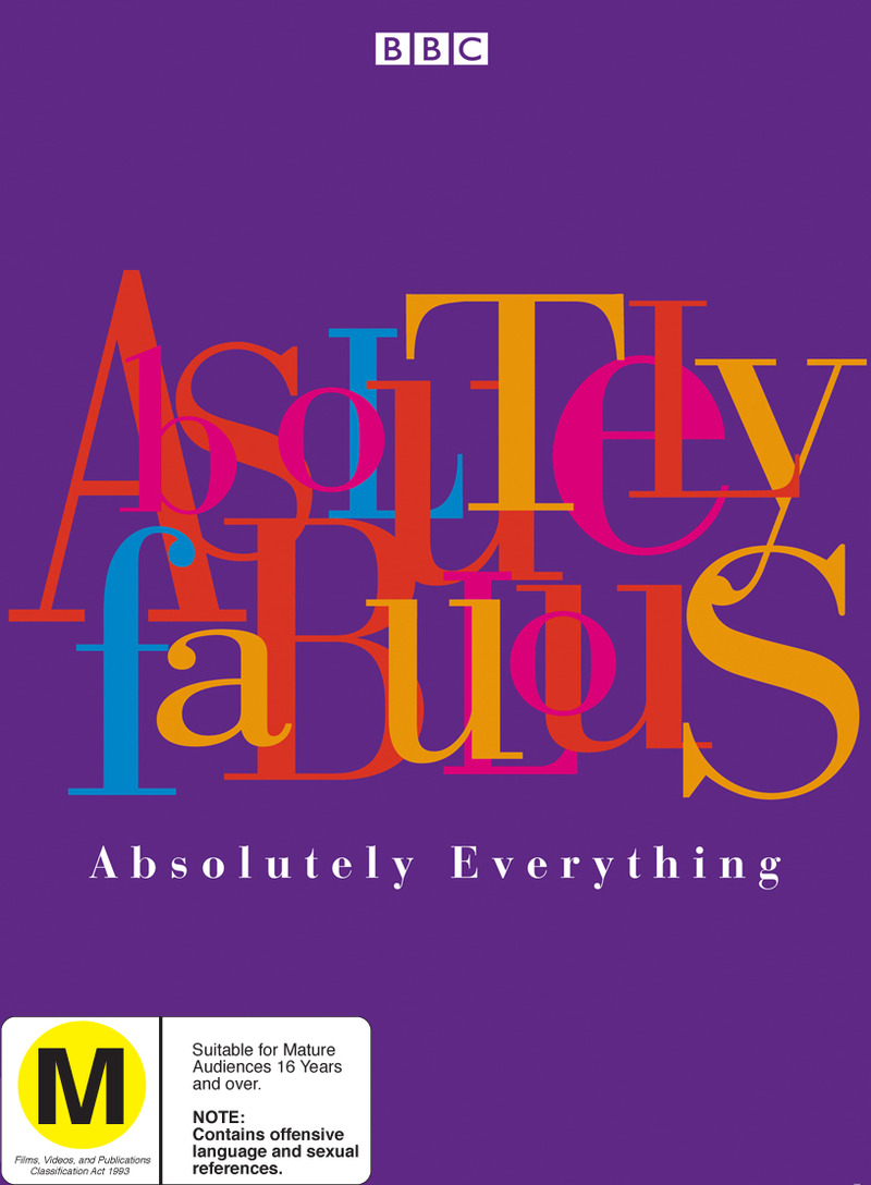 Absolutely Fabulous: Absolutely Everything (9 Disc) on DVD image