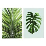 Palm Leaves Wall Art - 2 assorted