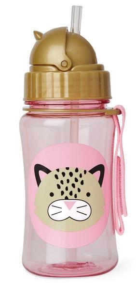 Skip Hop: Zoo Straw Bottle - Leopard
