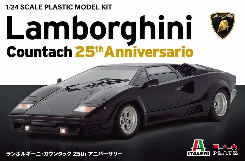 1 24 Lamborghini Countach 25th Anniversary Model Kit At Mighty