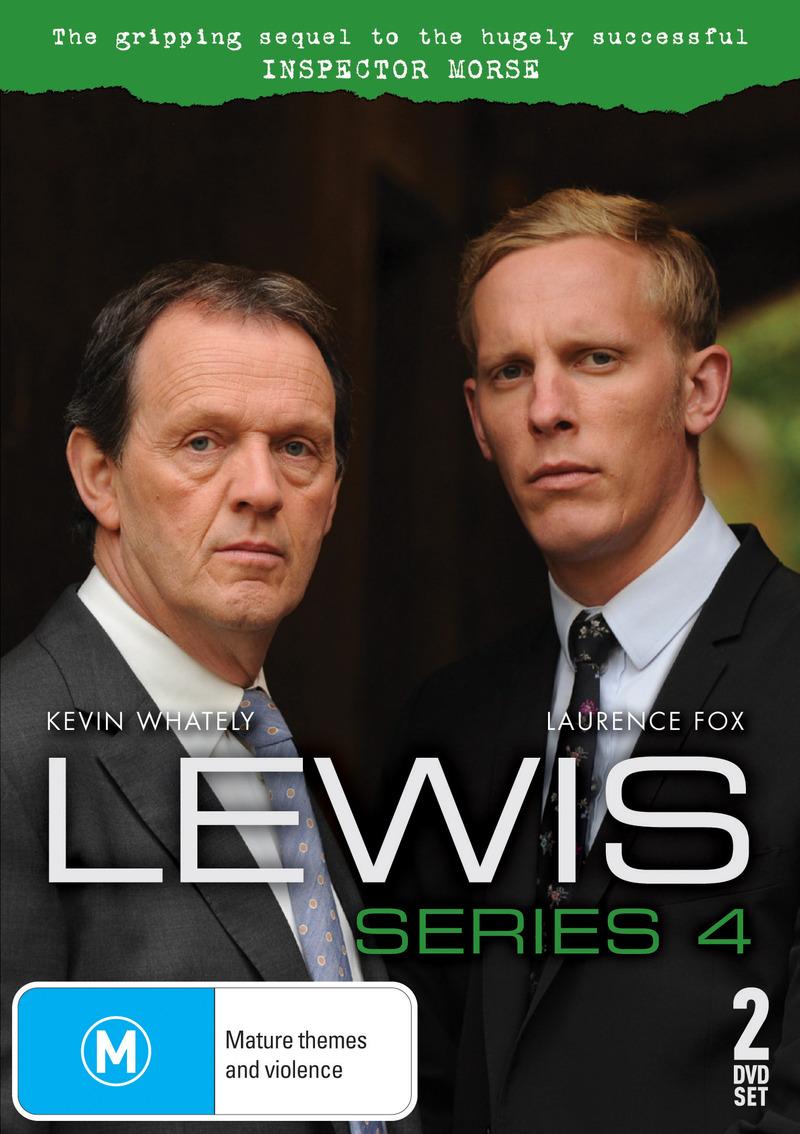 Lewis - Series 4 (2 Disc Set) DVD image