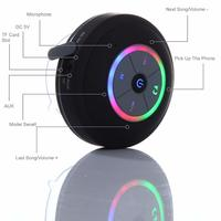 Ape Basics Waterproof Portable Shower Bluetooth Speakers - Black image