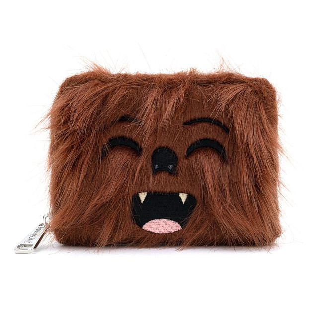 Loungefly: Star Wars - Faux Fur Chewbacca Zip Around Wallet