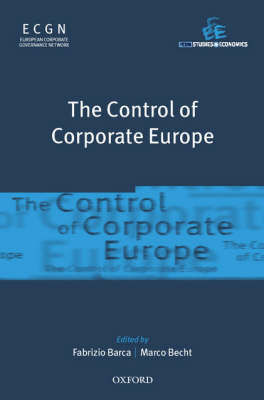The Control of Corporate Europe image