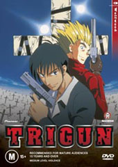 Trigun - Vol. 3: Wolfwood on DVD