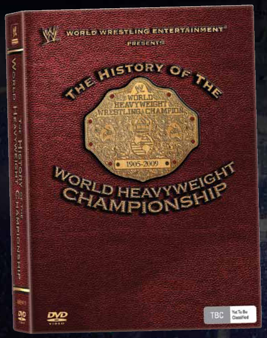 WWE - The History of the World Heavyweight Championship (3 Disc Set) on DVD image