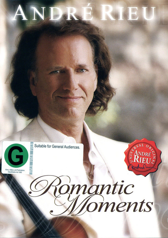 Andre Rieu - Romantic Moments on DVD