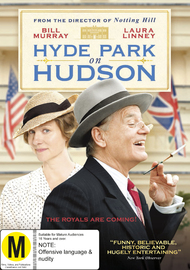 Hyde Park on Hudson on DVD