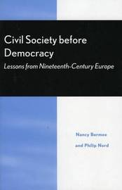 Civil Society Before Democracy image