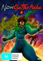 New Getter Robo - Vol. 4: Crash on DVD