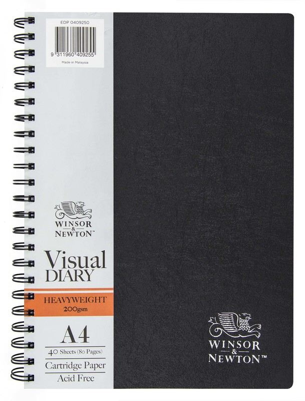 Winsor & Newton Drawing Diary Wiro 200gsm 40 Sheet A4