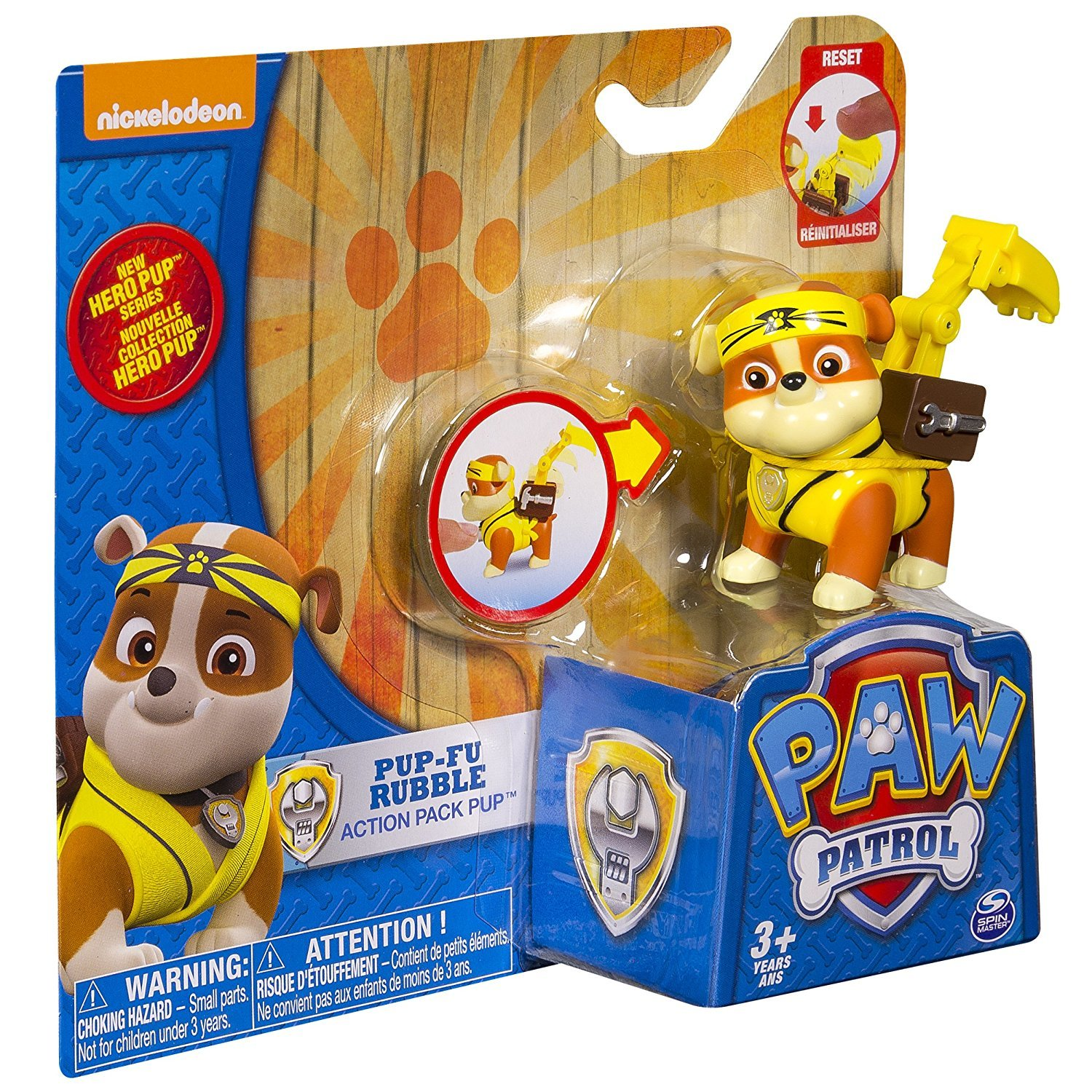 Paw Patrol: Hero Action Pup - Pup-Fu Rubble image