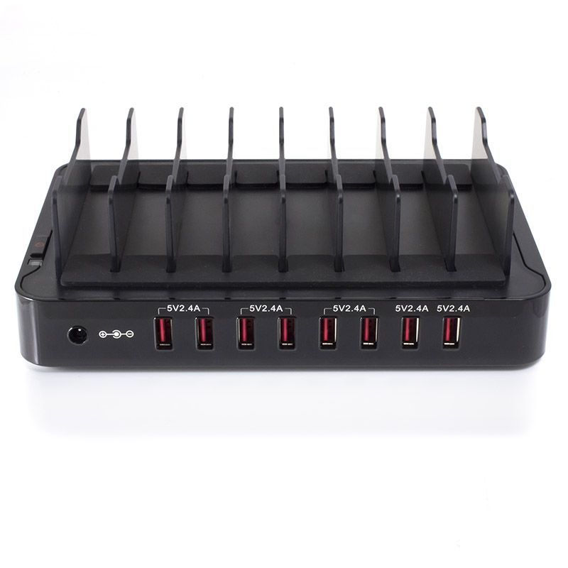 Alogic Vrova 8 Bay USB Desktop Charging Station - 12A/5V Output image