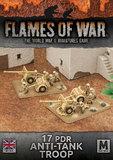 Flames of War: Desert Rats - 17pdr Anti-Tank Troop