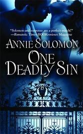 One Deadly Sin by Annie Solomon image