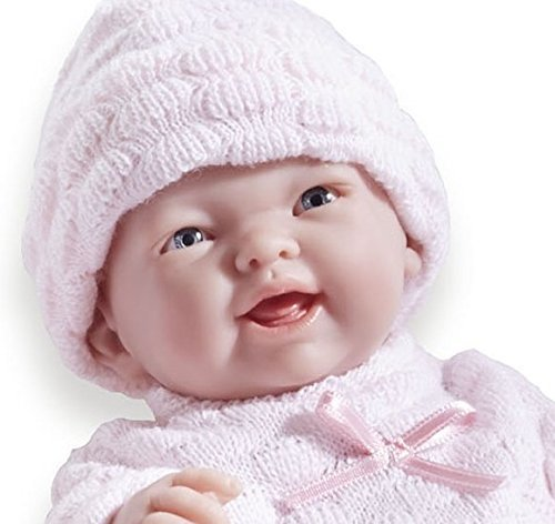 Mini La Newborn: Real Girl Baby Doll - Pink (24cm) image