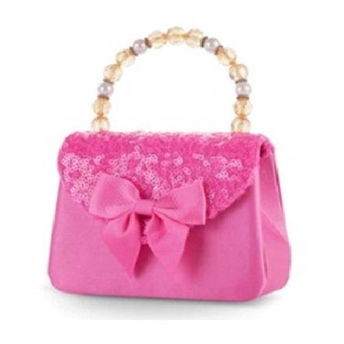 Pink Poppy: Forever Sparkle Hard Handbag (Hot Pink) image