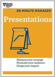 Presentations (HBR 20-Minute Manager Series) by Harvard Business Review image
