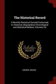 The Historical Record by Andrew Jenson image
