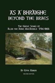 As A' Bhraighe by Effie Rankin