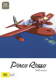 Porco Rosso - 25th Anniversary (Limited Edition) on DVD, Blu-ray