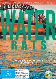 Water Rats - Collection 1 (Volume 1-4) on DVD