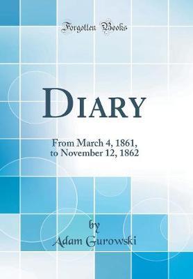 Diary by Adam Gurowski image