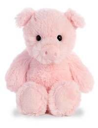 Aurora: Cuddly Friends Plush - Pig (Small)