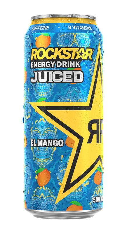 Rockstar El Mango Energy Drink 500ml (12 Pack)